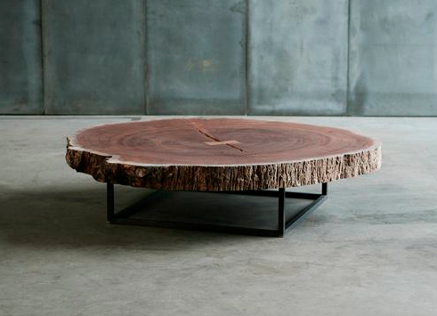 Charmant ARC Bark Coffee Table