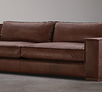 ARC Clean 2 Seater Genuine Leather Sofa