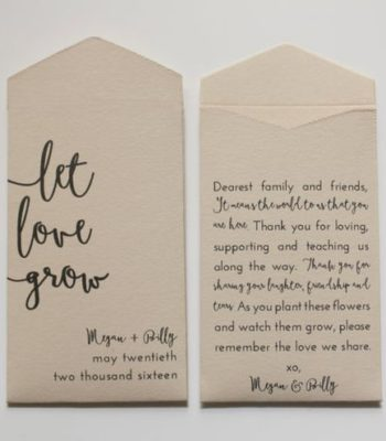 ARC Custom Printed Wedding Favor Bags